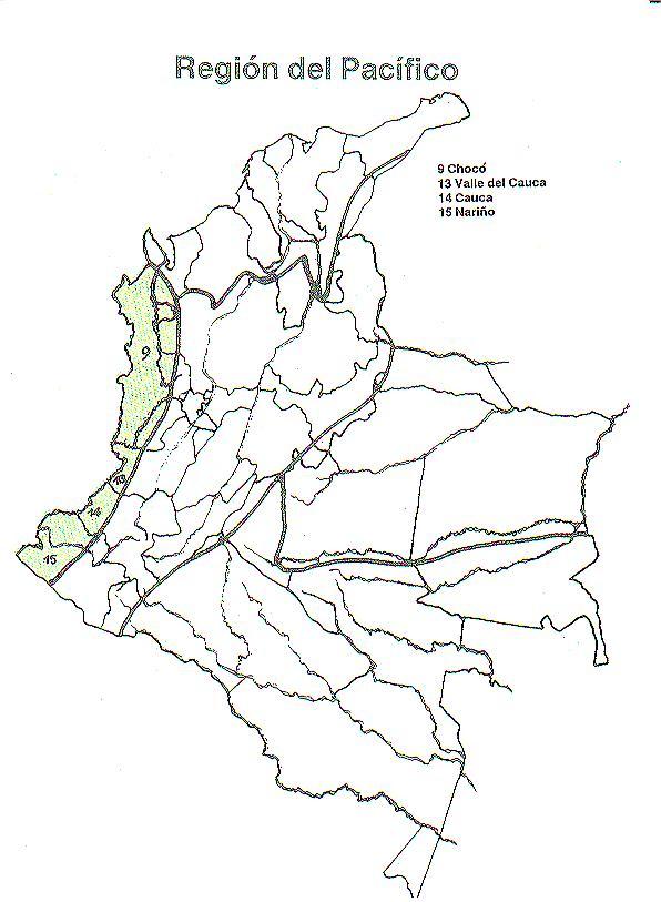 COLOMBIA: Región del Pacifico Colombiano