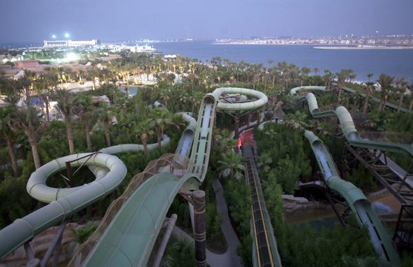 Master Blasters to children's twisters, Aquaventure Dubai has slide fun