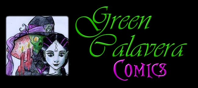Green Calavera Comics