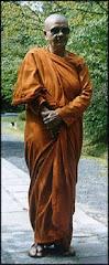 Srilankan Buddhist Nun