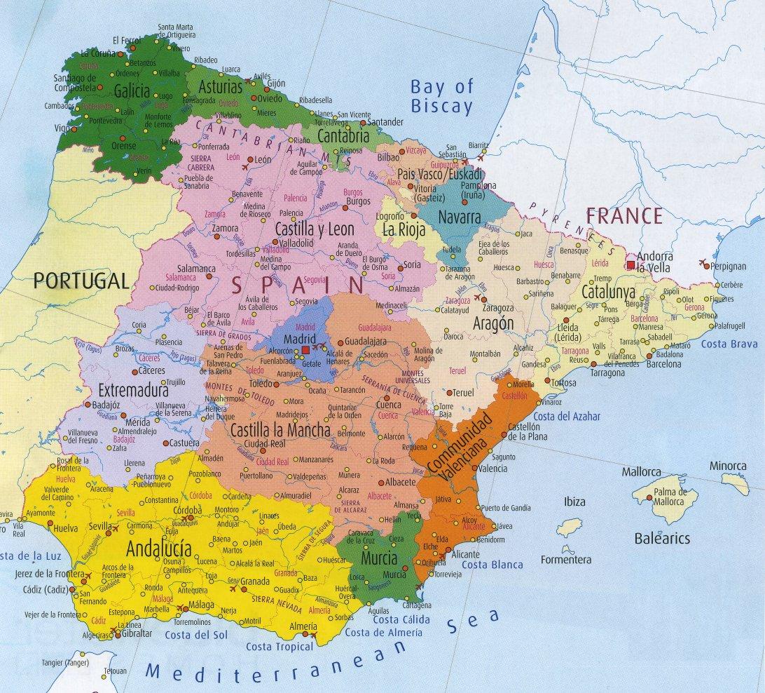Maps Espana