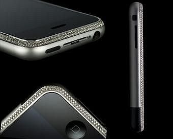 Apple iPhone en diamand