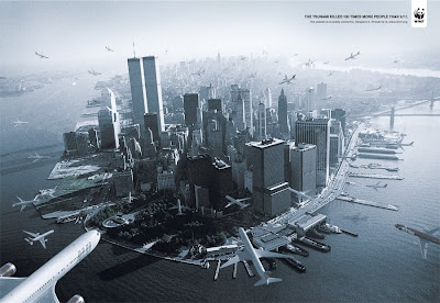 il y a eu 100 fois plus de morts lors du tsunami que lors des attentats du 11 septembre 2001