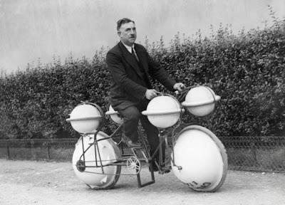 Amphibious Bike 'Cyclomer' (Paris, 1932)