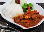 Prawns Marinated With Tamarine【Served with rice】RM8.90