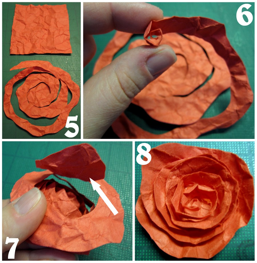 Ceramic paper roses the scrap shoppe ceramic paper roses mightylinksfo