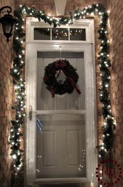 Christmas Lighted Garland