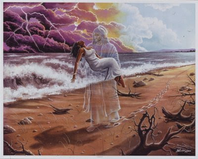 Jesus nos carregando