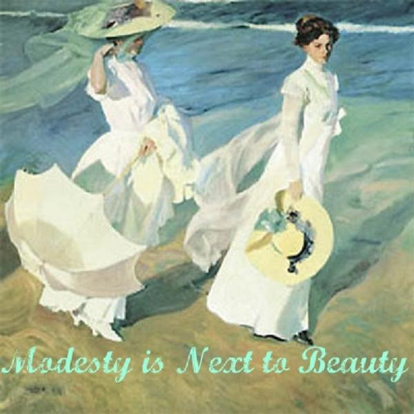 Proud Follower of Modesty is Next to Beauty