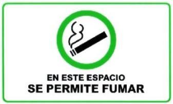 En este espacio se permite fumar
