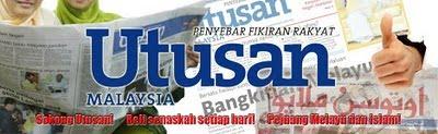 SAYA SAYANG UTUSAN MALAYSIA