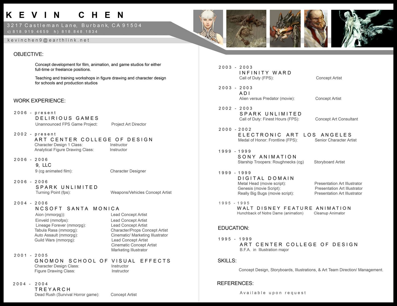 Outstanding Film Production Designer Resume Ornament - Example ...