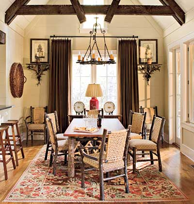 rustic farm table traditional rustic and vintage mix together