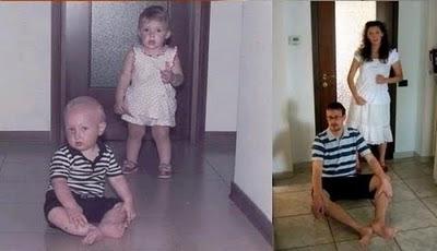 5 Recriando fotos da infância