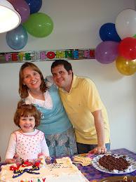 Família feliz!