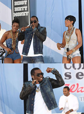 Justin Bieber and Diddy-Dirty Money Picture