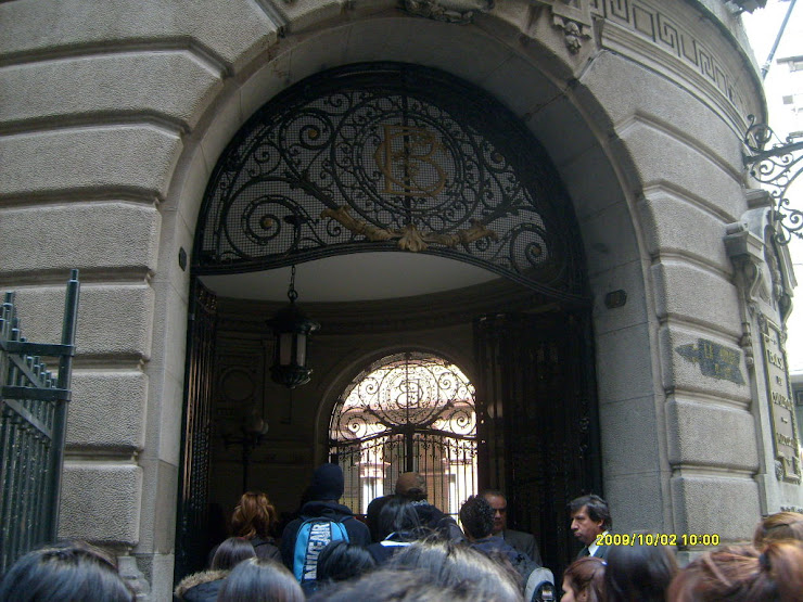 VISITA BOLSA DE COMERCIO DE SANTIAGO