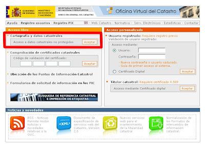 Villalba de guardo cambios en la numeraci n de regalapisa for Oficina virtual del catrasto
