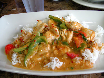 Mai Phim Panang Chicken Curry