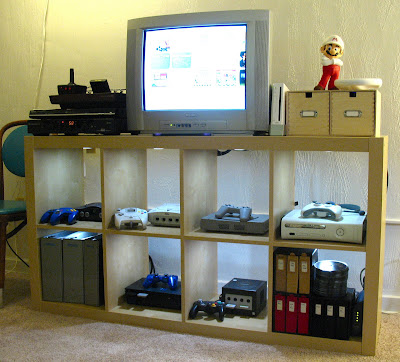 video game systems installed