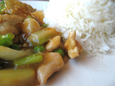 garlic chicken at Pike Place Chinese Cuisine