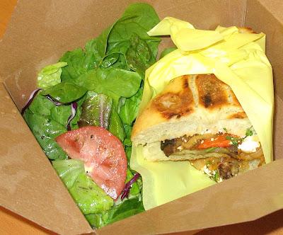 cafe paloma eggplant panini sandwich