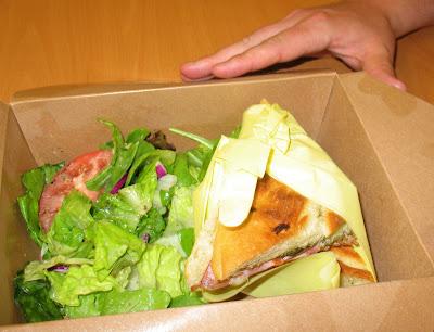 cafe paloma prosciutto panini sandwich