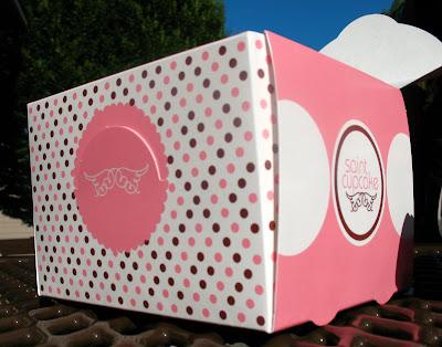 Saint Cupcake box
