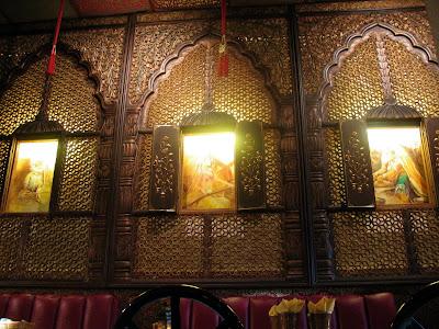 interior at Roti
