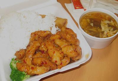 General Tso's Chicken at Julie's Garden