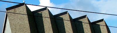 St. Pauls in lower queen anne, roofline
