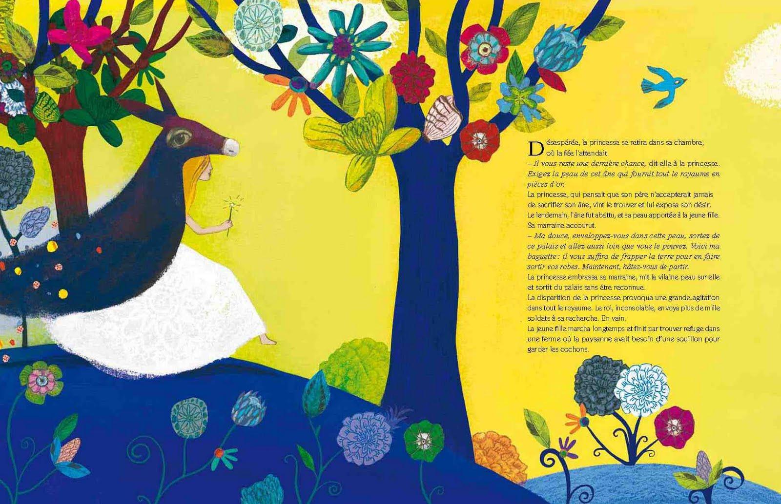 Bookpack coffret les plus beaux contes de princesses mic mac - Peau d ane conte ...