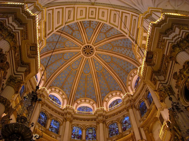 Dome of the cathedral in Grenada