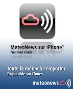 MeteoNews sur votre iPhone