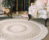 Free, Homemade Crocheted Rug Patterns - Associated Content from