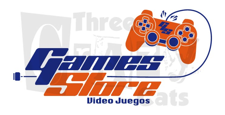 3CrazyCats: Logo - Games Store