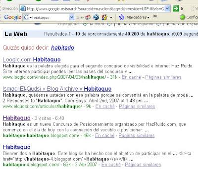 habitaquo 1 en Google