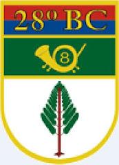Logo do 28ºBC.