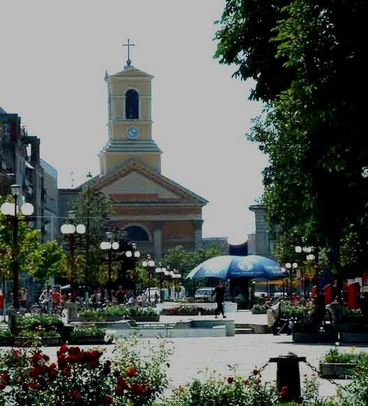 Centrul orasului Sannicolau Mare