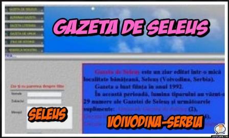 Gazeta romanilor din Seleus - Voivodina ,Serbia