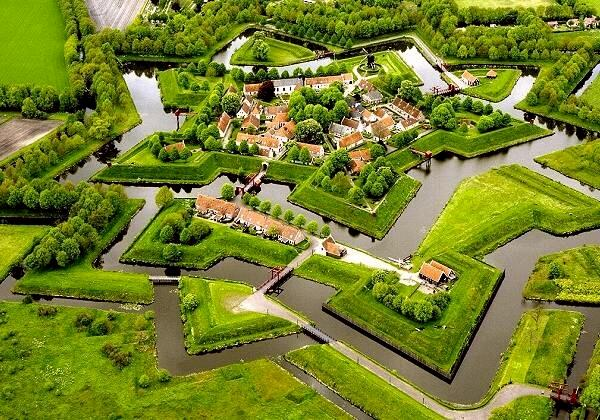 Europe Travel Destinations Bourtange A Beautiful City In Holland