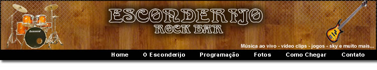 Esconderijo Rock Bar