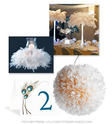 Ostrich tower centerpiece from Events Wholesale wreath centerpiece feathers