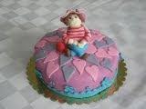 Çilek Kız Pastası