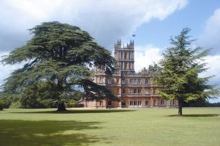 Downton Abbey saison 1 Highclere+caste