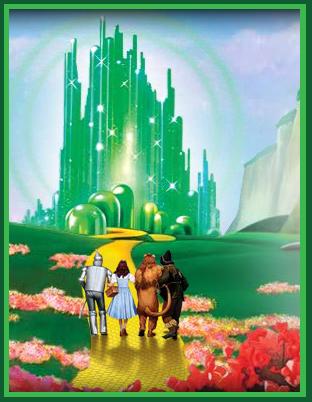 Enchanted serenity of period films wizard of oz at harrod 39 s - Wizard of oz doorstop ...
