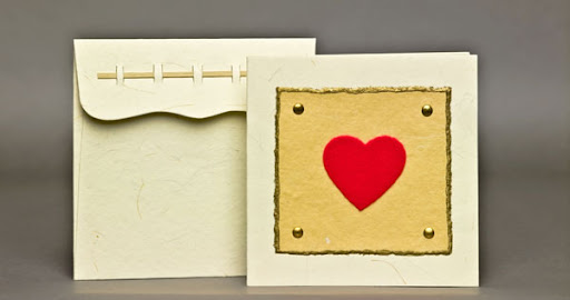 eco-friendly valentine cards, green valentines, eco-friendly cards, green shanti, eco-friendly valentines day