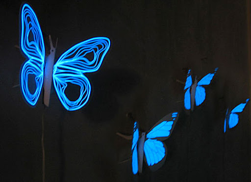 butterfly nightlights, eco-friendly nightlights, glowing butterfly nightlights for kids