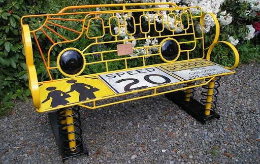 david feldt, to make you smile benches