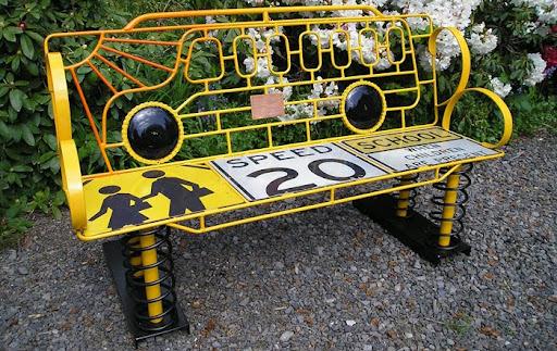 david feldt, to make you smile benches